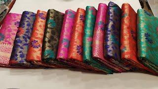 একেবারে সস্তায় অর্জিনাল কাঞ্জিবরন কাতান শাড়ি কিনুন awesome collection best quality kanjibhron kata