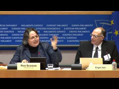 Rosi Braidotti, Enacting Citizenship: session at the European Parliament 27 March 2013