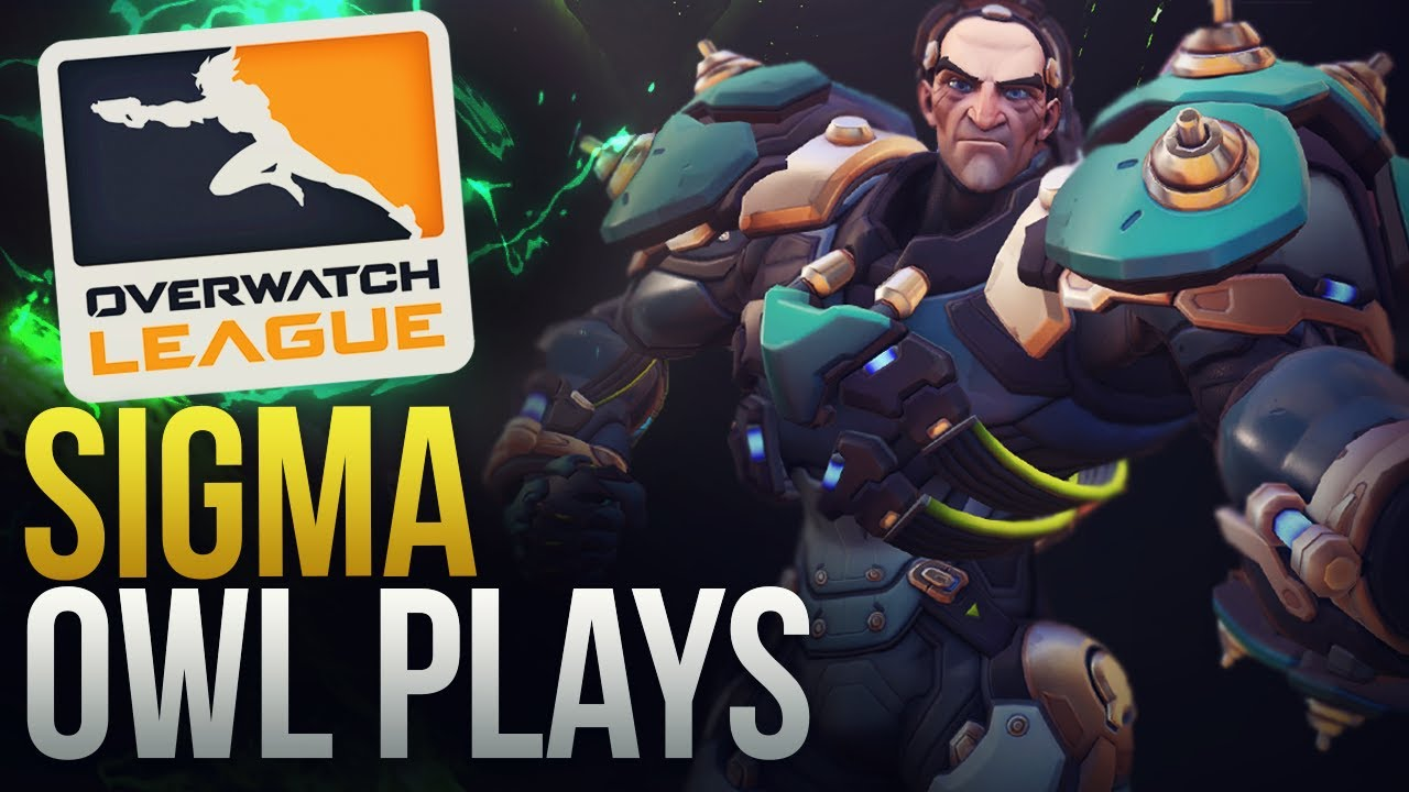 BEST SIGMA OVERWATCH LEAGUE PLAYS - Overwatch Montage