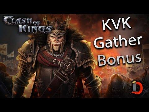 GATHER BONUS DURING KINGDOM VS KINGDOM - GOOD THING - CLASH OF KINGS