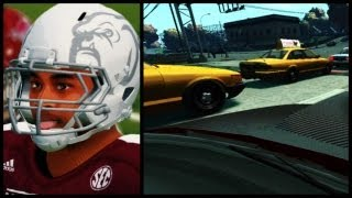 NCAA Football 14 Road To Glory - The Chosen One Ep. 4 | Alex Impresses His Dad In Clutch Comeback