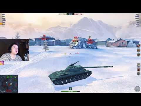 WoT Blitz - Какой танк КРУЧЕ ● ИС-8 или WZ -111 1-4 в быстром рандоме ● Китай Vs СССР
