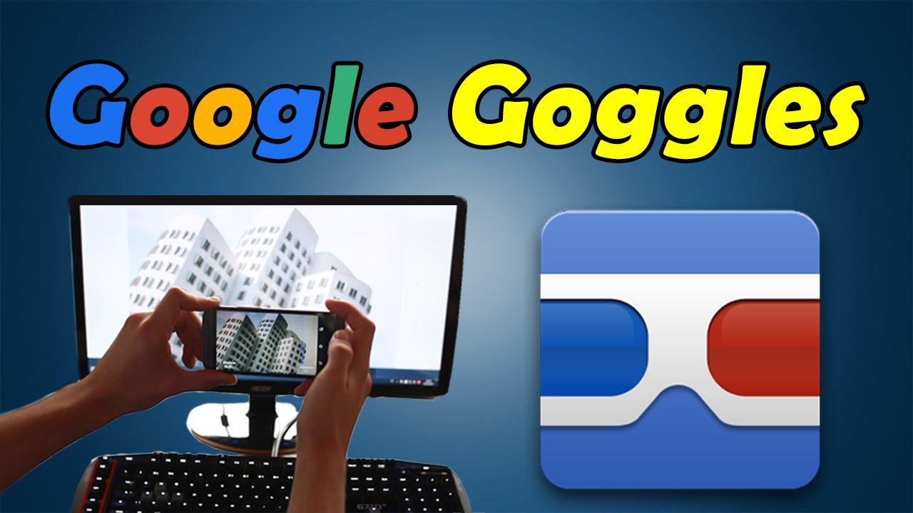 Google Goggles Google Bildersuche Rückwärts App Vorstellung Youtube