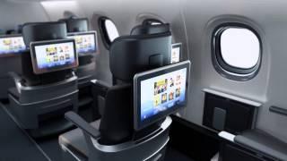 Embraer E-Jet E2 cabin interior