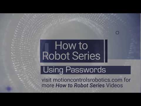 Guard Against Robot Downtime with Password Protection - Motion