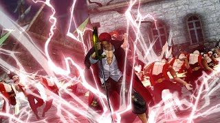 [PS4] One Piece: Pirate Warriors 3 [ワンピース 海賊無双3] - Shanks Gameplay (60fps 1080p)