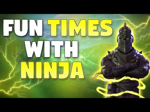 Fun Times With Ninja! - Fortnite Battle Royale Duos With Ninja Gameplay
