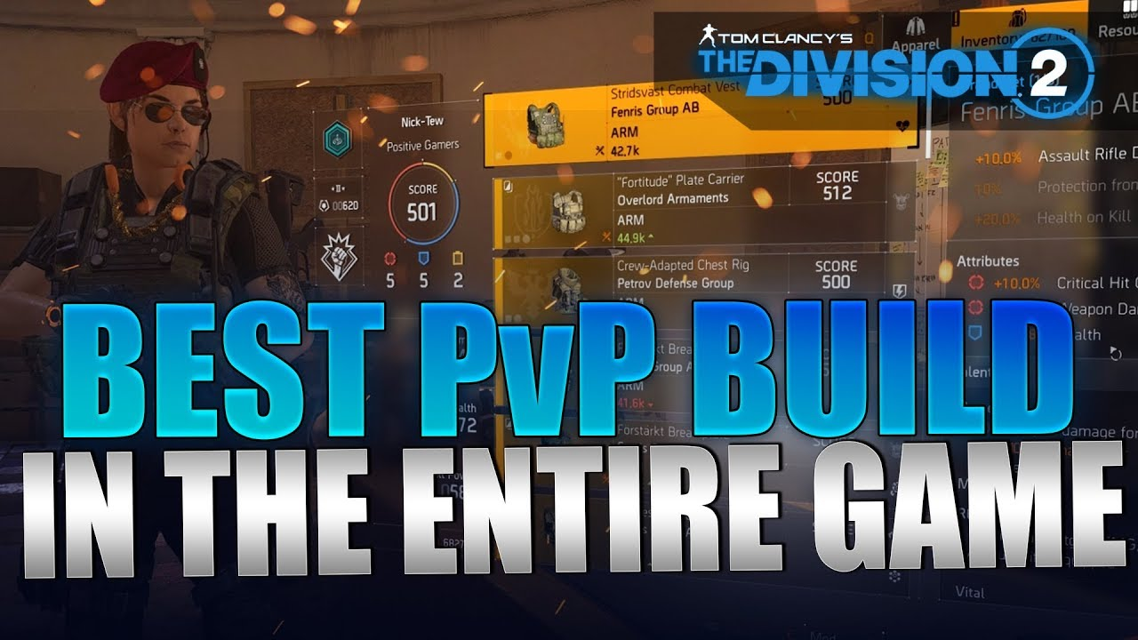 The Division 2 - Best PvP Build Guide MELT Players | SMG PvP