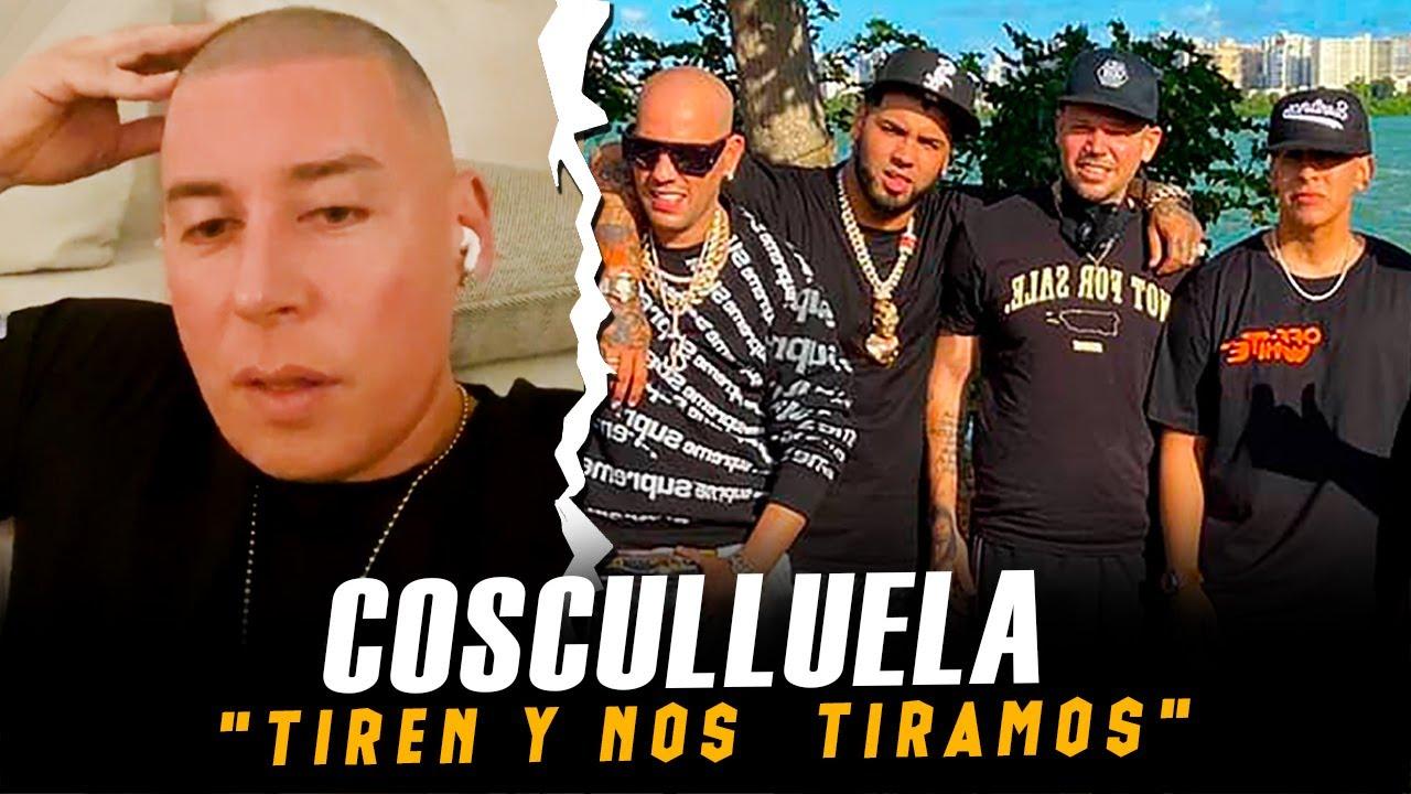 """COSCULLUELLA :  le responde a Daddy Yankee, Anuel AA, Kendo y Residente """"Si me tiran los desmantelo"""""""