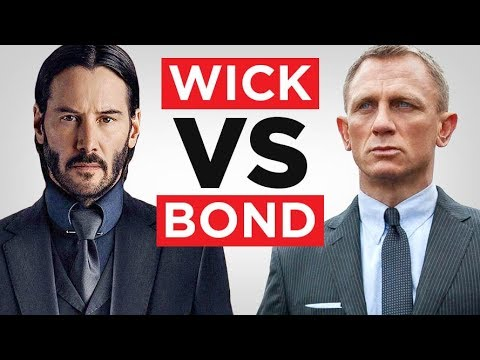John Wick vs James Bond (Which One Is MORE Dangerously Stylish?) | RMRS
