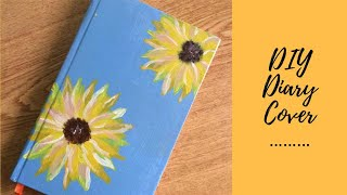 DIY | DIARY COVER DESIGN |FRONT PAGE DESIGN FOR  PROJECT | NOTEBOOK COVER DECORATION  |FnF Creations