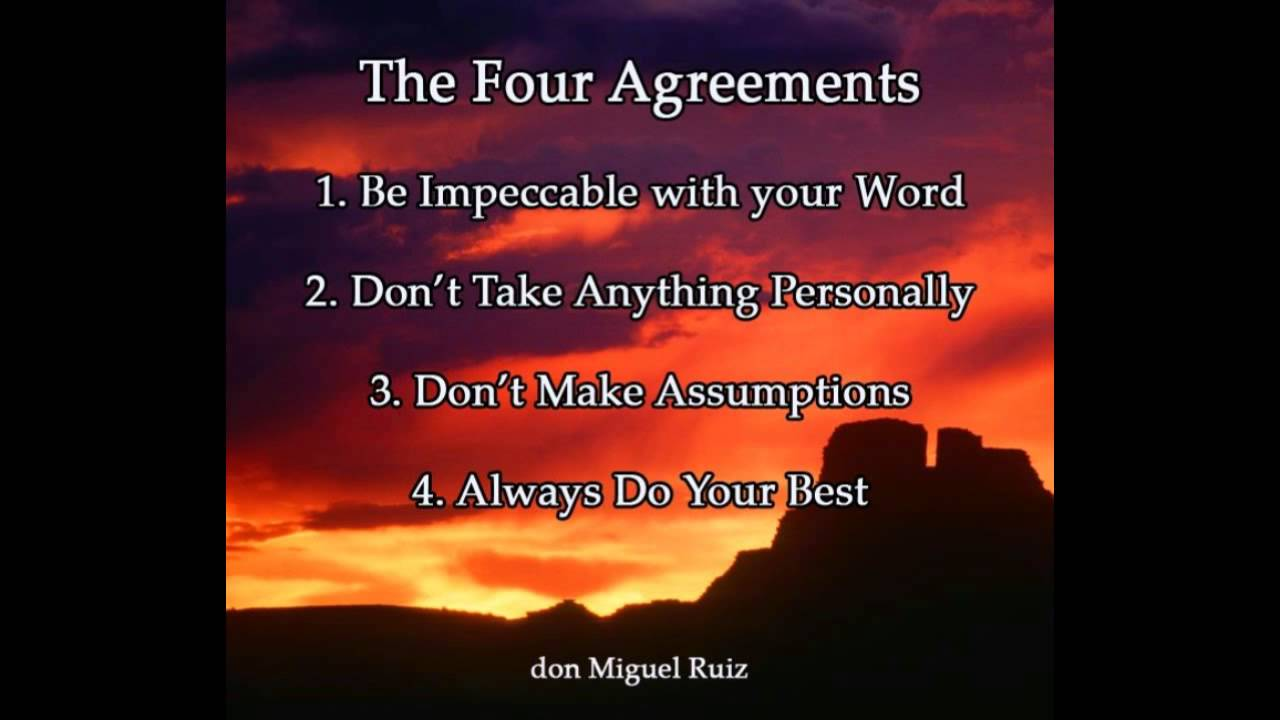 The Four Agreements Prelude To A New Dream Youtube