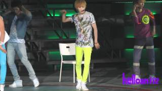 110820 SHINee Taemin - Love Like Oxygen@SHINee 1st concert in Nanjing