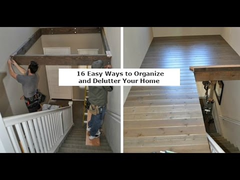 16 Easy Ways to Organize and Delutter Your Home