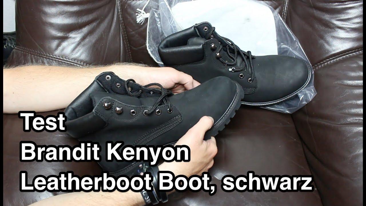 Test Brandit Kenyon Leatherboot Boot  c337addf00