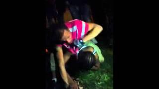 Fag fighting at Jackson park