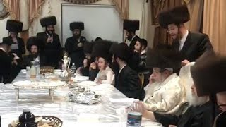 The Rabbi Of Tosh, At His Tish On Chol Hamoed In Tosh Canada, Pesach 2021