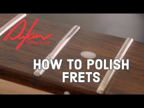 How To Polish Frets On Your Guitar (THE RIGHT WAY)