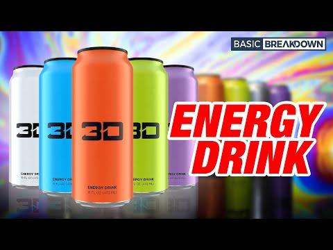 3D Energy Drink Review | Basic Breakdown