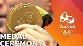 MEDAL CEREMONY (STANDARD VERSION) l RIO 2016 SUMMER OLYMPIC GAMES