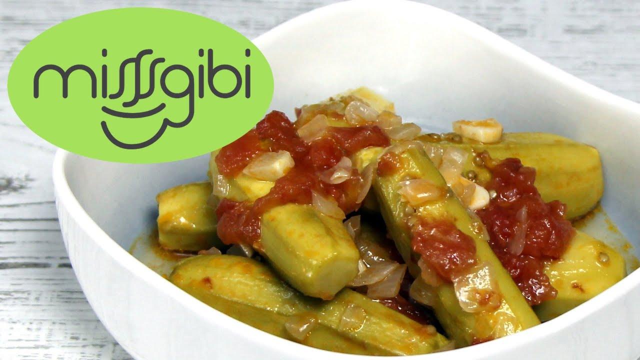 Zeytinyağlı Kabak Yemeği - Diyet Yemek Tarifleri - YouTube