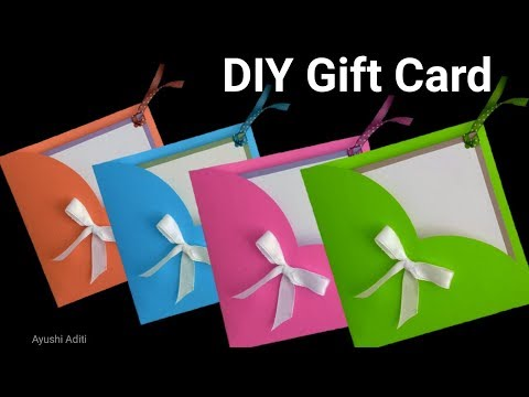 How to make Greeting Card with Envelope | DIY Easy Card Tutorial | Friendship Day Card |