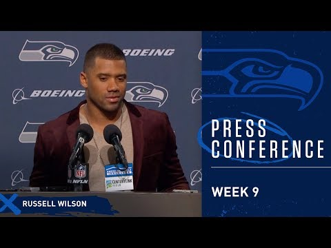 Seahawks Quarterback Russell Wilson Postgame Press Conference vs Chargers