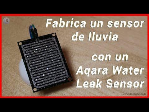 💡 Monta tu propio sensor de lluvia inteligente con un Aqara Water Leak Sensor