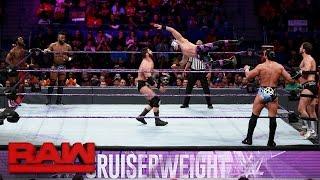 Swann, Alexander & Dorado vs Nese, Gulak & Daivari: Raw, Oct. 3, 2016