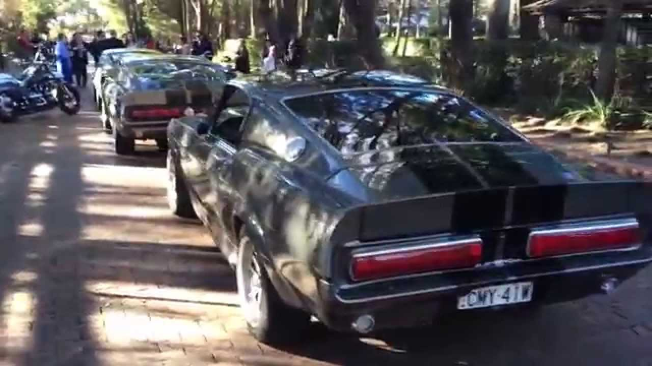3 x Ford Shelby GT500 Mustang Eleanor's 4Hire
