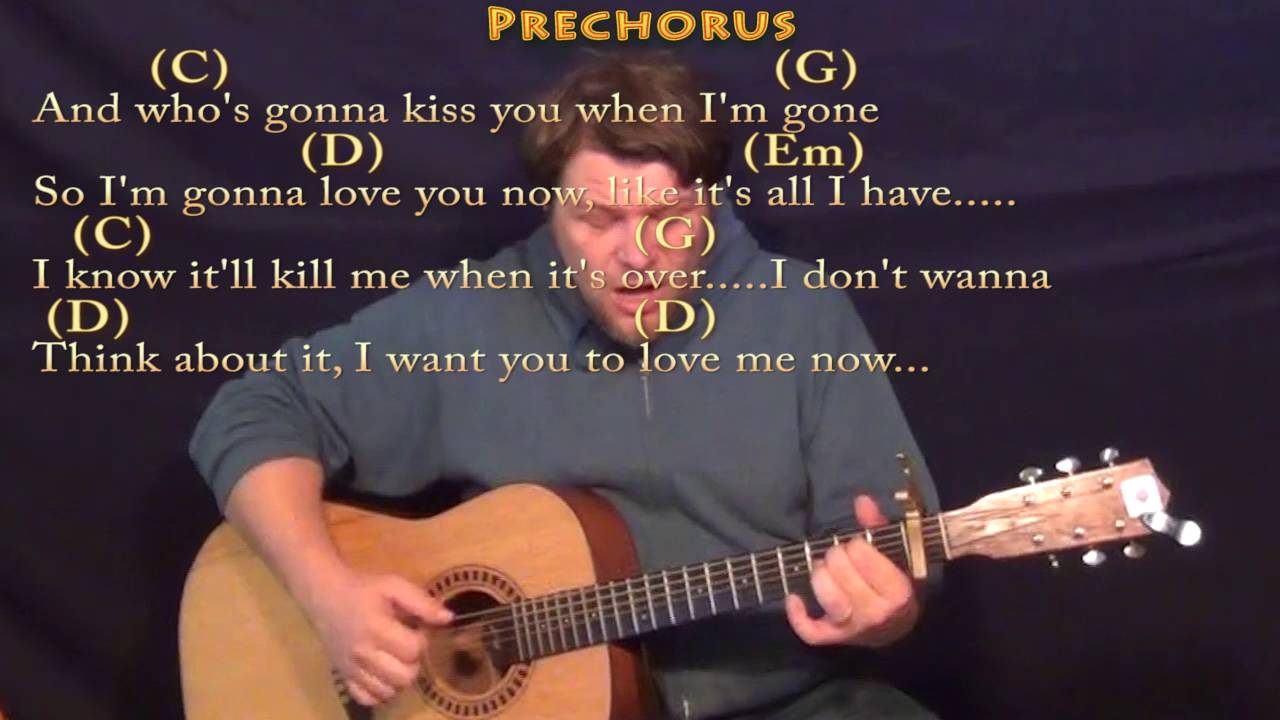 Love Me Now John Legend Fingerstyle Guitar Cover Lesson With