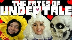 Undertale the Musical: THE FATES OF UNDERTALE (Live Action Christmas parody)