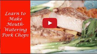 Best Pork Chop Recipe | 5 Spice Pork Chop | Vegetable Noodles | Seared Scallions