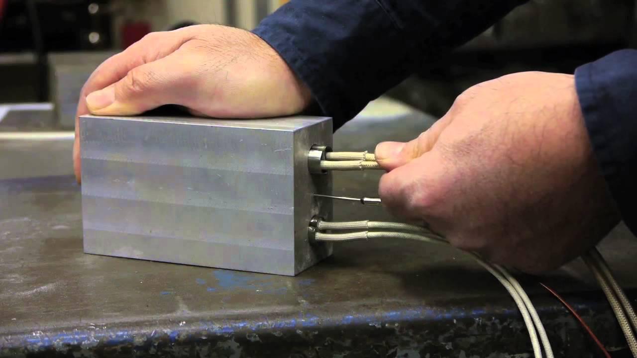 Watt Flex Cartridge Heaters Eliminate Bore Seizure