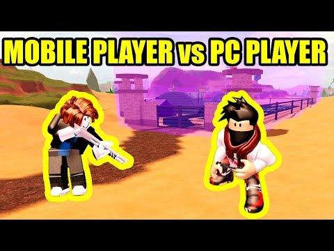 MOBILE PLAYER Tries ARRESTING ME On PC...[USER Vs STRAW] | Roblox Jailbreak