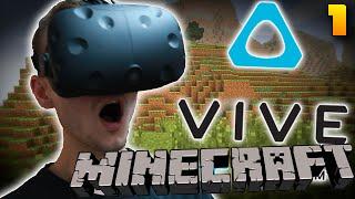 MINECRAFT VE VIRTUÁLNÍ REALITĚ? - HTC Vive Hry #1!