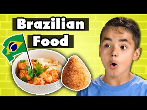 Kids Try Brazilian Food | Kids Vs. Food