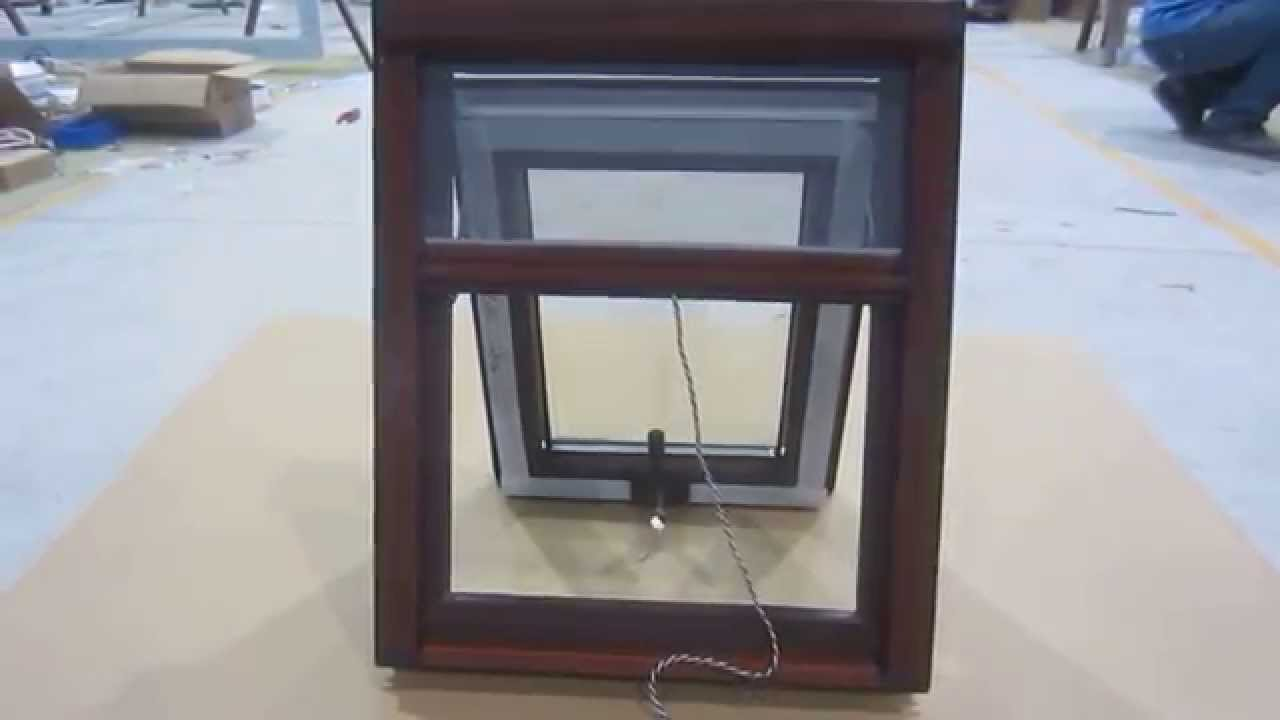 Retractable Screen for Awning Windows - YouTube