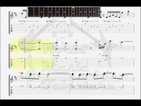 Debussy, Claude   Clair De Lune GUITAR 1 TAB