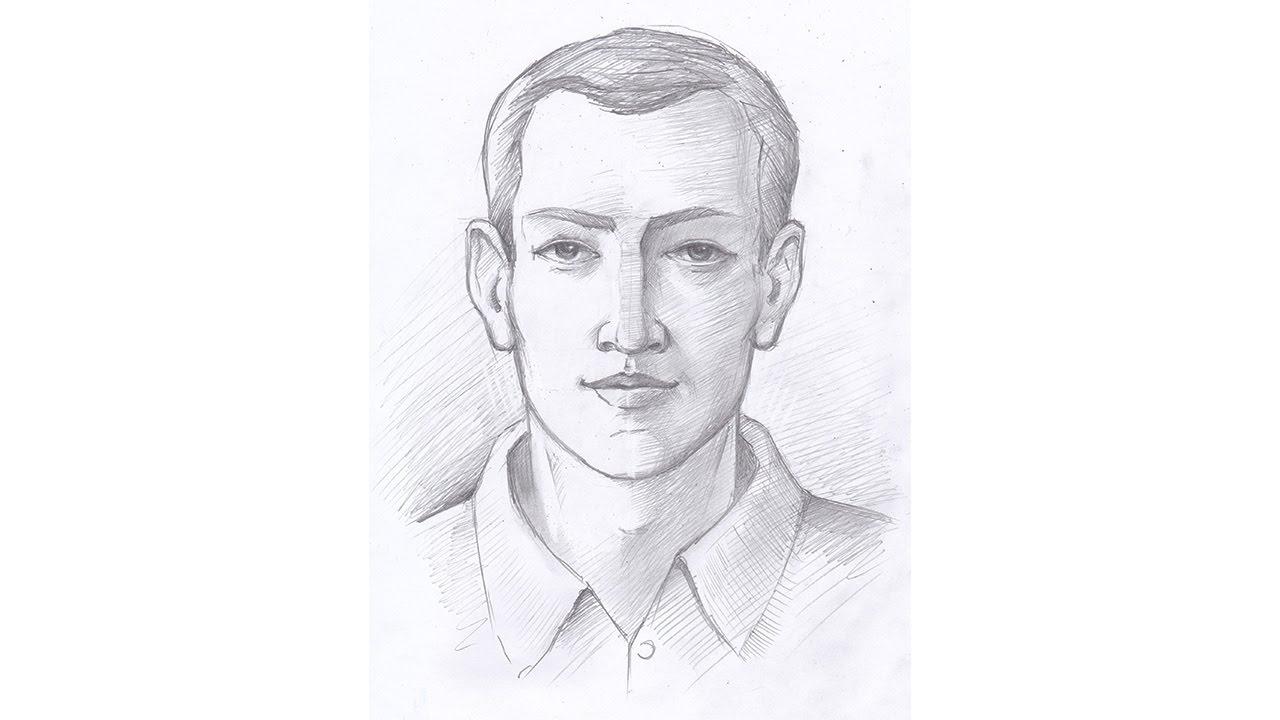 портрет по фотографии нарисовать