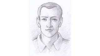 Как нарисовать портрет (штриховка). Часть 2. Урок 52