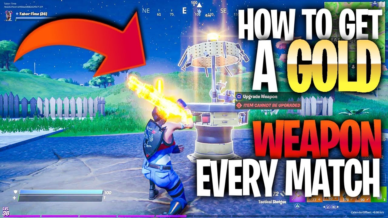 Upgrade An Item At A Weapon Upgrade Bench All Upgrade Station Locations In Fortnite