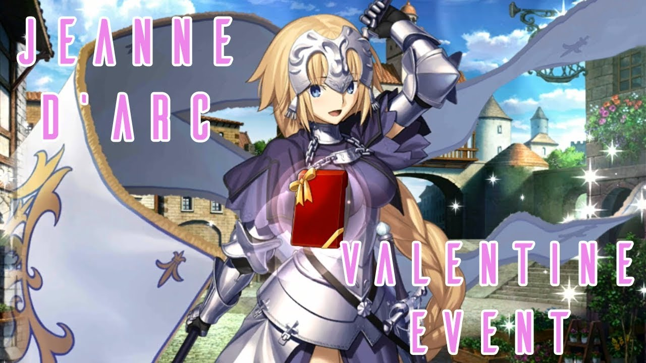 HOMEMADE CHOCOLATE FROM JANNU!!! - JEANNE D'ARC'S 2018 VALENTINE EVENT -  FATE GRAND ORDER (US)