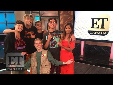 PRETTYMUCH Show Off Freestyle Skills, Talk Simon Cowell