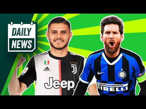 How Inter Plan To Sign Messi! + Icardi To Leave PSG? ► Daily News