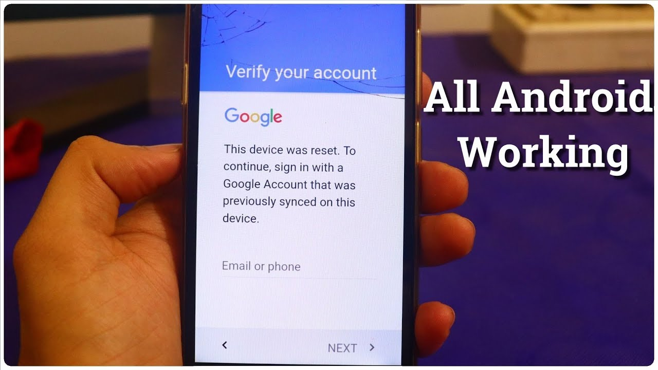 How to bypass Google Account Verification - [Universal Method] Bypass  Google ID any Android Phone