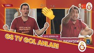 GS TV'de 22. Şampiyonluğun Geldiği Gol Anları! #ŞampiyonGalatasaray