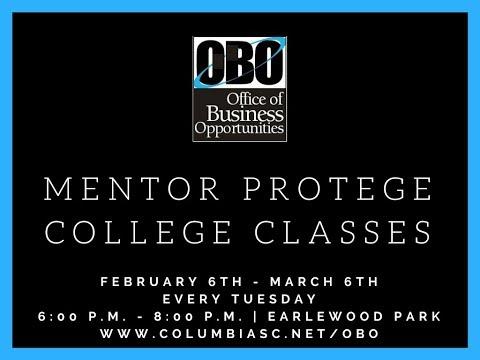 Columbia Close-Up: Mentor Protege College Classes