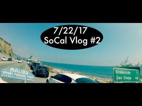 Malibu, Oceanside Harbor//SoCal Vlog #2