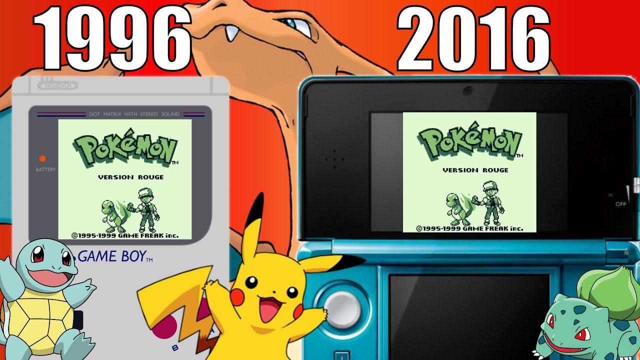 Retour en enfance pokemon rouge sur 3ds 20 ans apres - Sulfura pokemon rouge ...